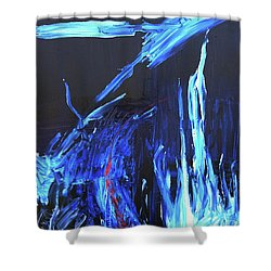 Vibrations Shower Curtain
