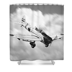Vichi Val Shower Curtain by Douglas Castleman