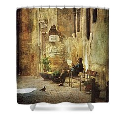 Vicolo Chiuso   Closed Alley Shower Curtain