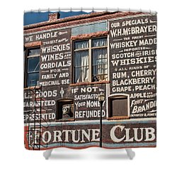 Victor Fortune Club Shower Curtain