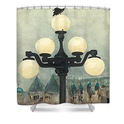 Victoria Evening Shower Curtain