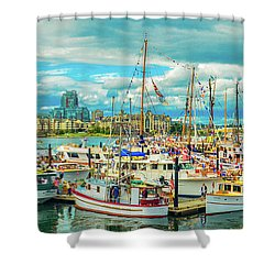 Victoria Harbor 2 Shower Curtain