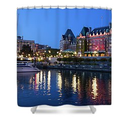 Victoria Lights Shower Curtain