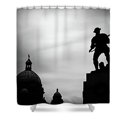 Victoria Silhouettes Shower Curtain