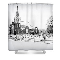 Shower Curtain featuring the photograph Victorian Gothic by Kendall McKernon