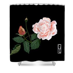 Victorian Rose Shower Curtain