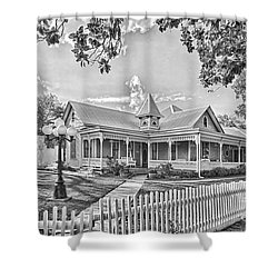 Victorian Sunday House Shower Curtain