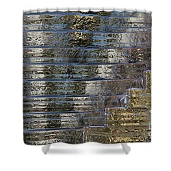 Victory - Water Is Life Shower Curtain