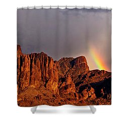 Shower Curtain featuring the photograph Victory In The Storm by Rick Furmanek