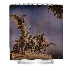 London, England - Victory Shower Curtain