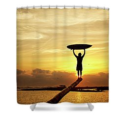 Victory Shower Curtain