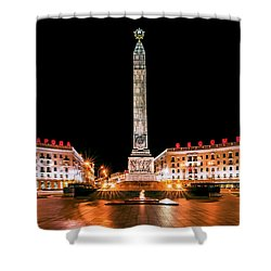 victory Square Shower Curtain