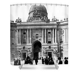 Vienna Austria - Imperial Palace - C 1902 Shower Curtain by International  Images
