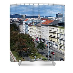 Vienna Beltway Shower Curtain
