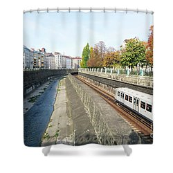 Vienna Canal Shower Curtain
