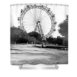 Viennese Giant Wheel Shower Curtain