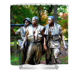 Viet Nam Memorial Shower Curtain