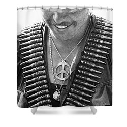 Vietnam War: Soldier, 1970 Shower Curtain by Granger