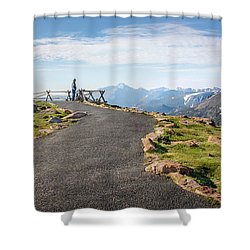 View At The Top Shower Curtain