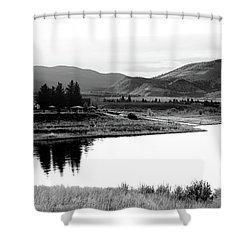 View Shower Curtain by Brian Duram
