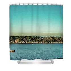 View From 11th Ave. Shower Curtain