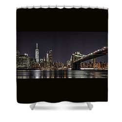 View From Brooklyn Bridge Park Shower Curtain