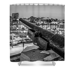 View From Federal Hill Shower Curtain by Wayne King