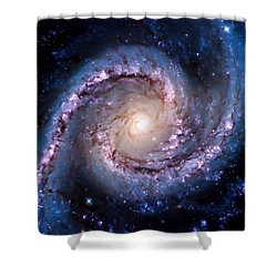View From Hubble Shower Curtain