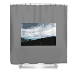 View From Mount Washington II Shower Curtain
