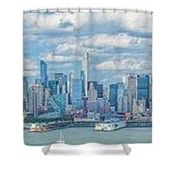 View From New Jersey 2 Shower Curtain