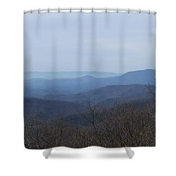 View From Springer Mountain Shower Curtain