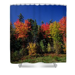 View In The Appalachian Mountains Shower Curtain by View in the Appalachian Mountains