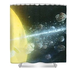 View Master Shower Curtain by A  Robert Malcom