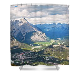 View Of Banff Shower Curtain