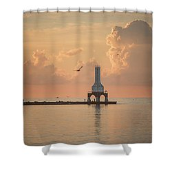 View Of Heaven Shower Curtain