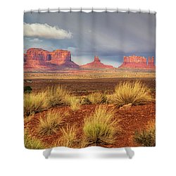 View Of Monument Valley Shower Curtain