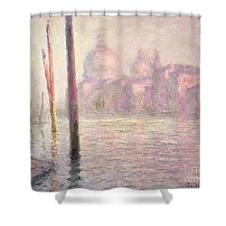 View Of Venice Shower Curtain by Claude Monet