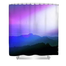 View Point Shower Curtain by Tatsuya Atarashi