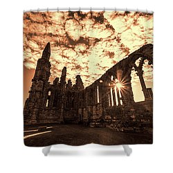 Shower Curtain featuring the photograph View To A Thrill by Anthony Baatz