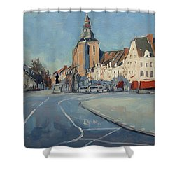 View To Boschstraat Maastricht Shower Curtain