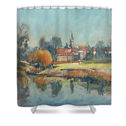 View To Elsloo Shower Curtain