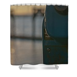 Shower Curtain featuring the photograph Viewfinder by Erin Kohlenberg