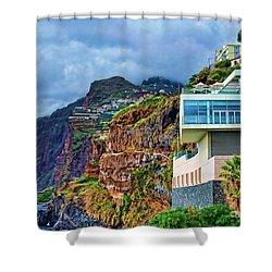 Viewpoint Over Camara De Lobos Madeira Portugal Shower Curtain