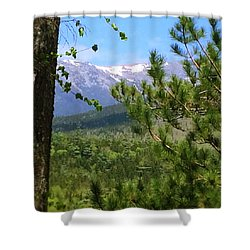 Views Of Katahdin Shower Curtain