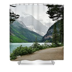 Views Of Louise Shower Curtain