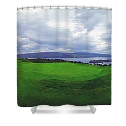Views Of The Seas Shower Curtain by Jan W Faul