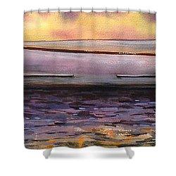Viggo's Boat Shower Curtain