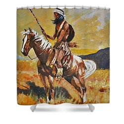 Vigilante Apache Shower Curtain