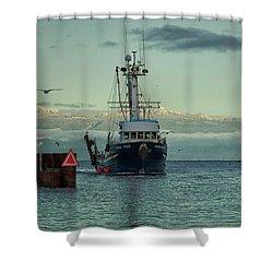 Viking Pride Shower Curtain