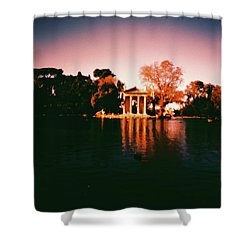 Villa Borghesse Rome Shower Curtain